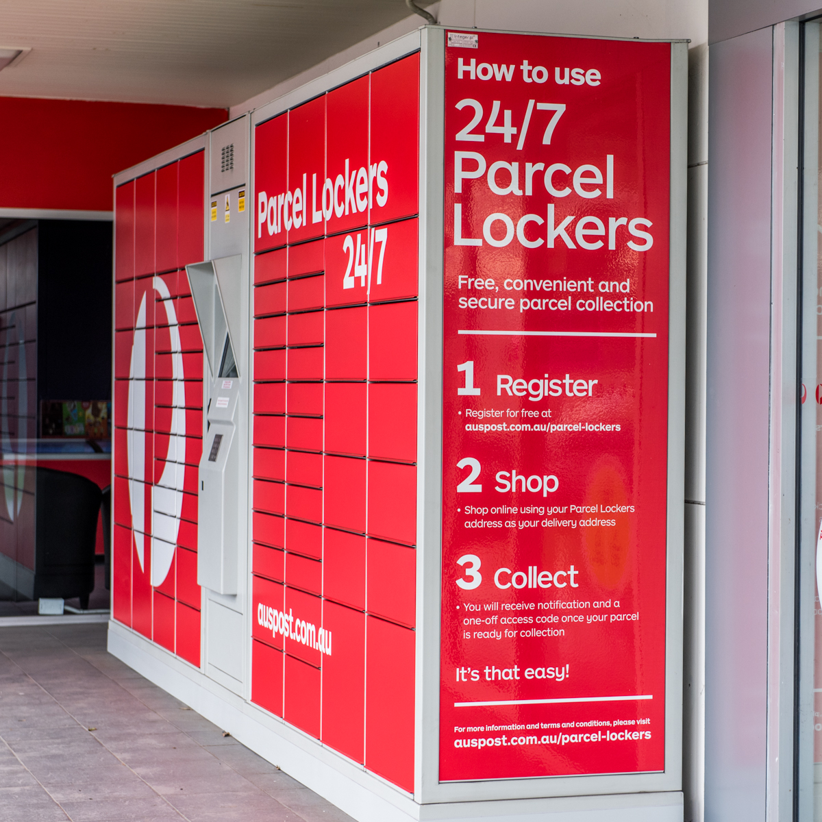 AUSTRALIA POST PARCEL LOCKERS - CONVENIENT AND FREE | She ...