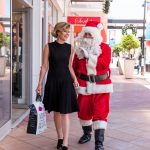 FATHER CHRISTMAS VISITS HARBOUR TOWN ADELAIDE