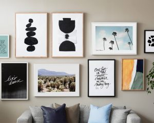HOW TO CREATE THE PERFECT PRINT WALL