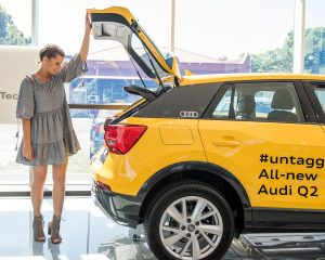 LUCY AND BEN TAKE THE ALL NEW AUDI Q2 FOR A TEST DRIVE