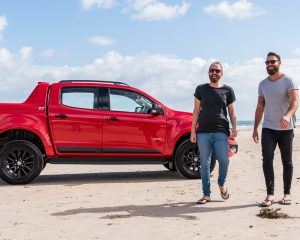 HOLDEN COLORADO TEST DRIVE WITH TIM AND KYLE FROM MKR