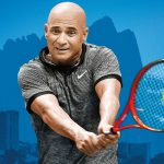 ANDRE AGASSI RETURNS TO ADELAIDE FOR THE WORLD TENNIS CHALLENGE