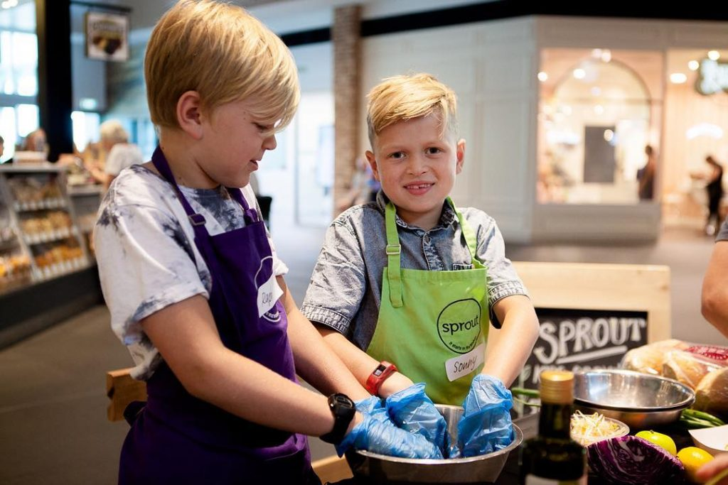Would you look at my cute little Masterchefs? Yesterday theyhellip