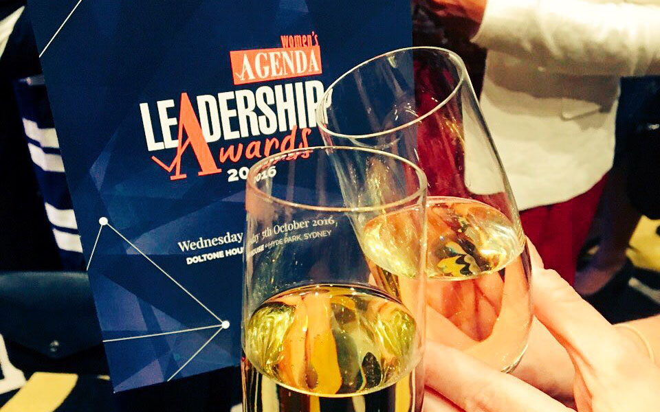 Celebrating emerging female leaders at Women's Agenda's Leadership Awards 2016