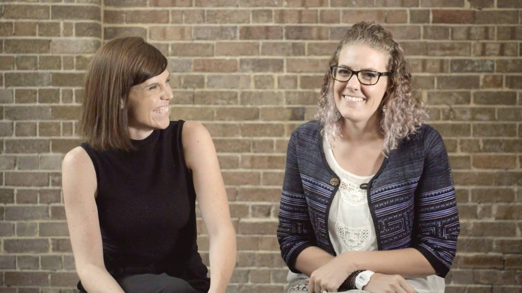 Jessica Christiansen-Franks & Lucinda Hartley cofounders of Neighbourlytics