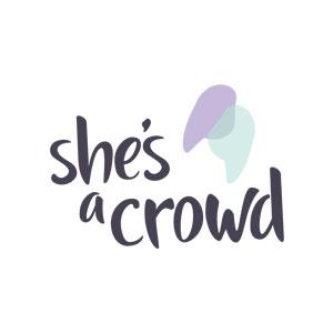 She's a Crowd Logo