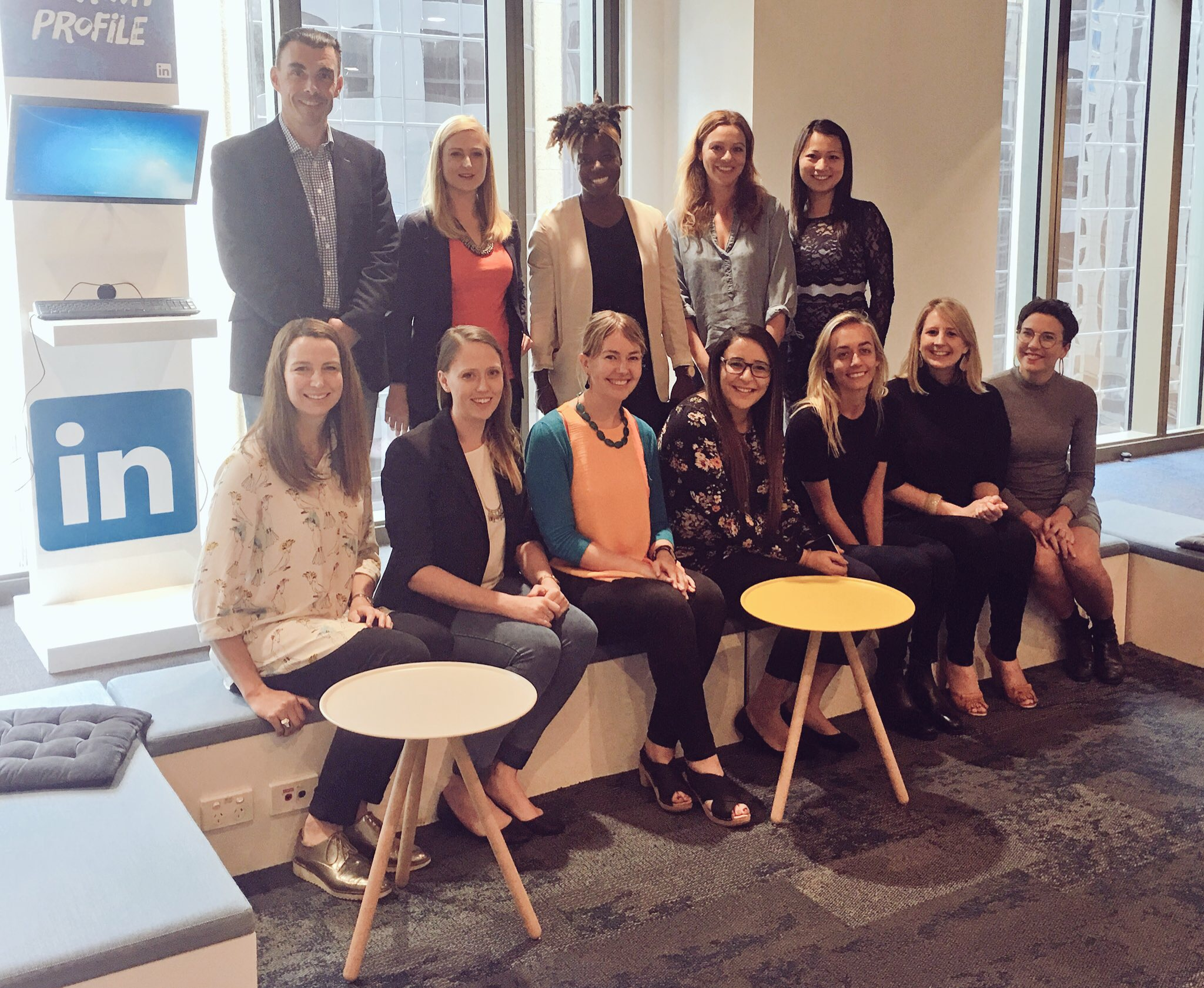SheStarts founders at LinkedIn