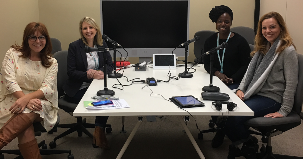 ANZ Carina and Director Nicola Hazell speak to two SheStarts founders for the ANZ Bluenotes podcast