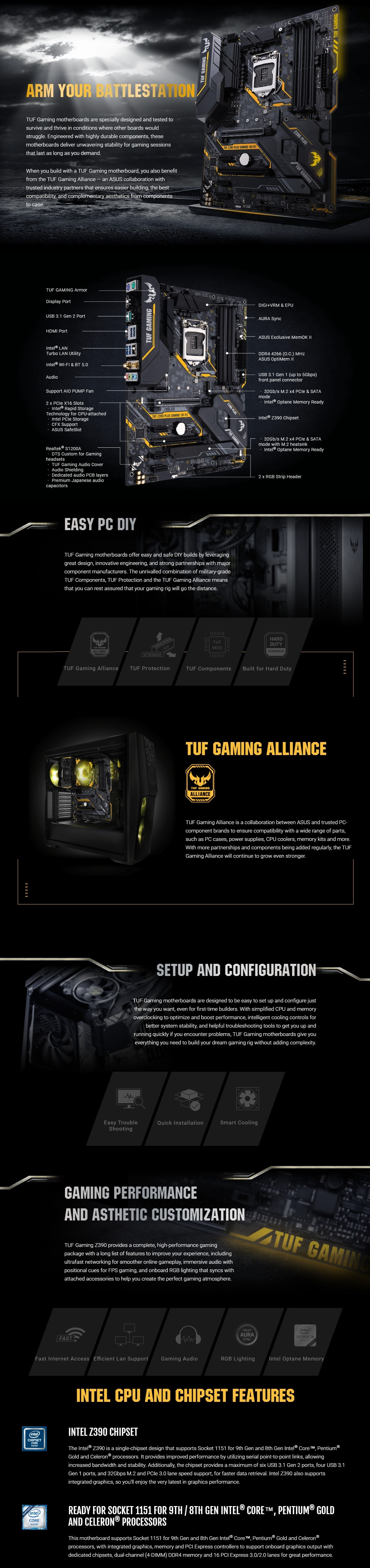 Image result for TUF Z390-PLUS GAMING
