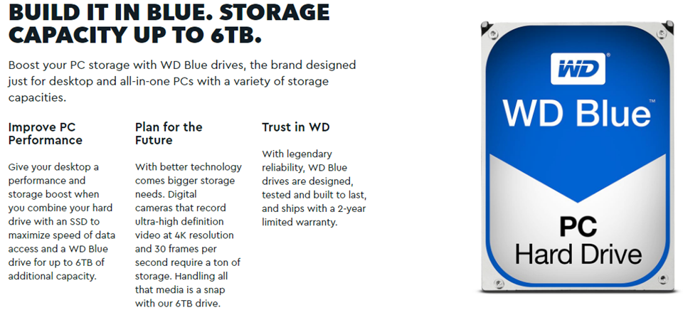 Details about Western Digital WD Blue 1TB 3 5