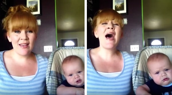 Mum changes the lyrics to the song Hallelujah…and we are in stitches!