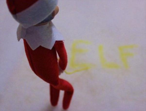 Peeing Elf