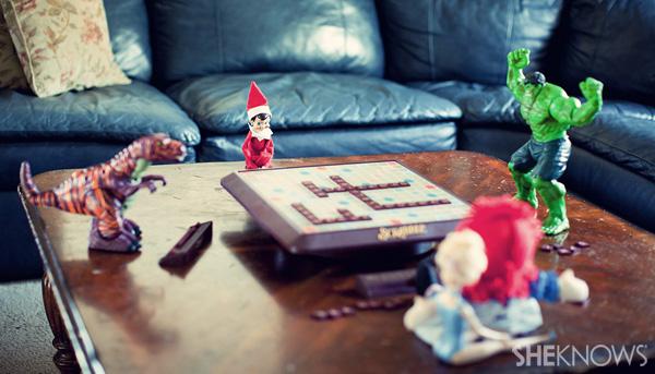 Scrabble Elf