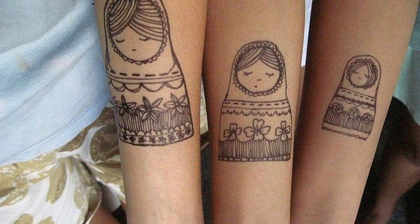Would you get a matching tattoo with your BFF?