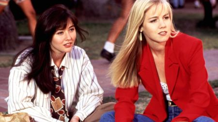 jennie garth and shannon doherty