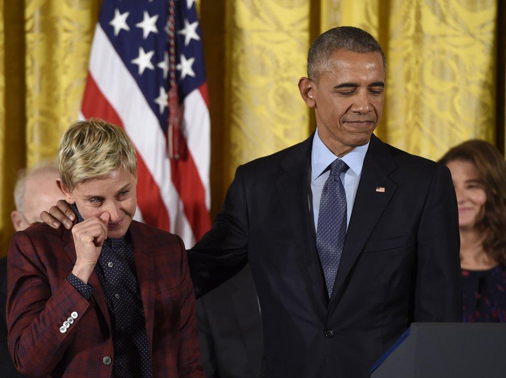 Ellen presidential medal