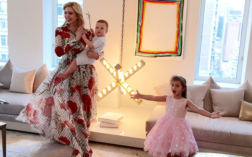Inside ivanka trump 39 s swanky new york home for Ivanka trump jared kushner apartment