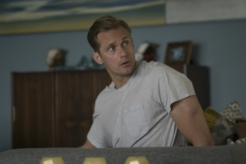Alexander Skarsgard plays Perry Wright