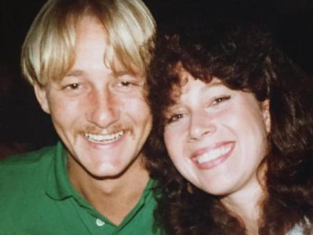 Anita Cobby and her husband John