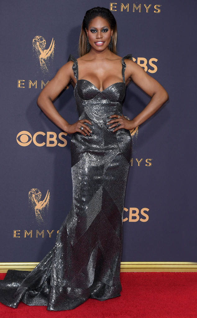 LAVERNE COX FROM OITNB LOOKS SMOKIN' HOT.