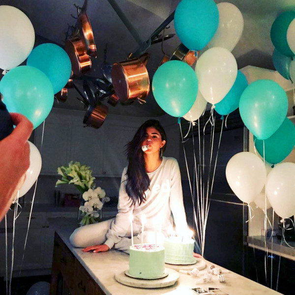 Selena Gomez celebrating her birthday!