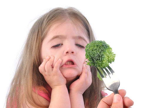 kids not eating veggies