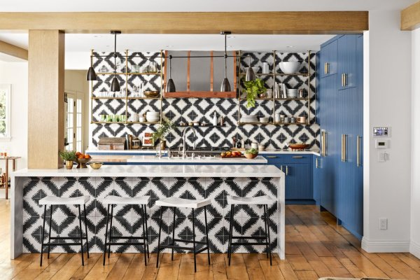 The kitch. Image: Better Homes & Gardens / Justin Coit
