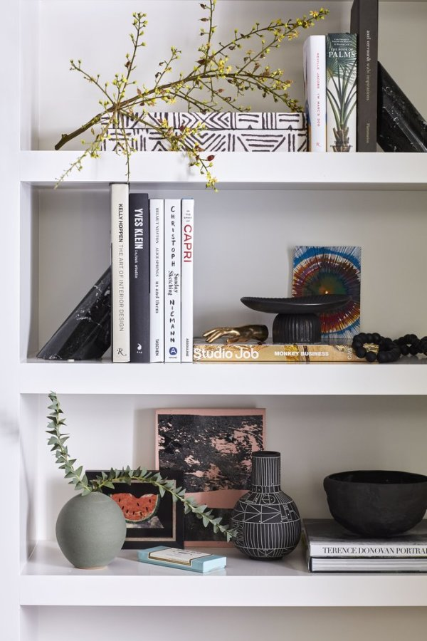 Perfectly styled shelving Image: Better Homes & Gardens / Justin Coit