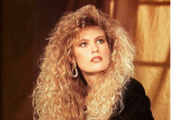 Hair Style In The 80s: The New Perms Of 2018 Promise Wavy Hair With Zero Fuss