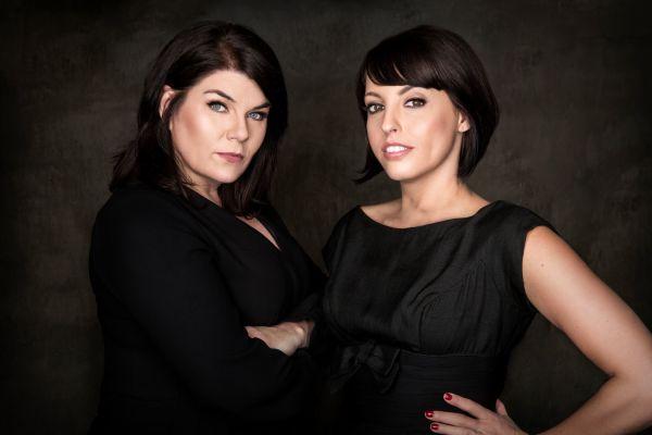 Karen Kilgariff (left) and Georgia Hardstark (right) - the ladies of My Favorite Murder