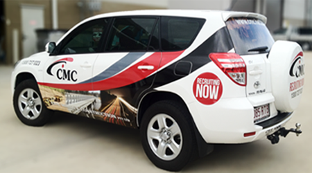 Vehicle Graphics for CMC