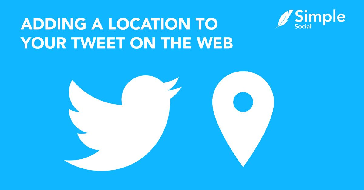 How to add locations to a Tweet via the web in 2020 (enabling precise location).