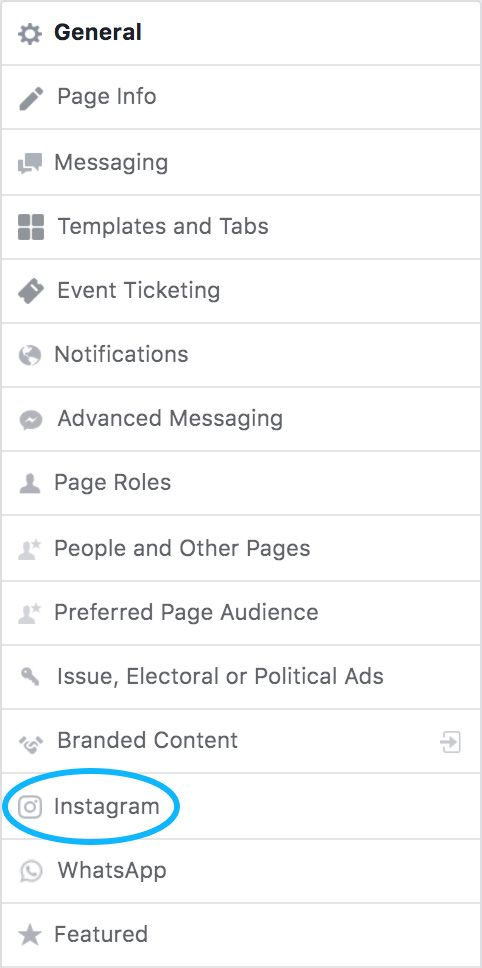 Facebook Page Right-Hand-Side Navigation