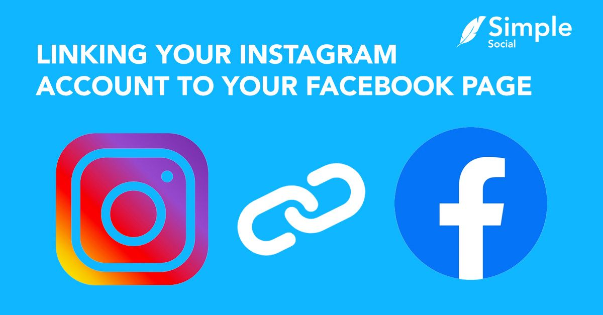 How to link your Instagram Account to your Facebook Page in 2020.