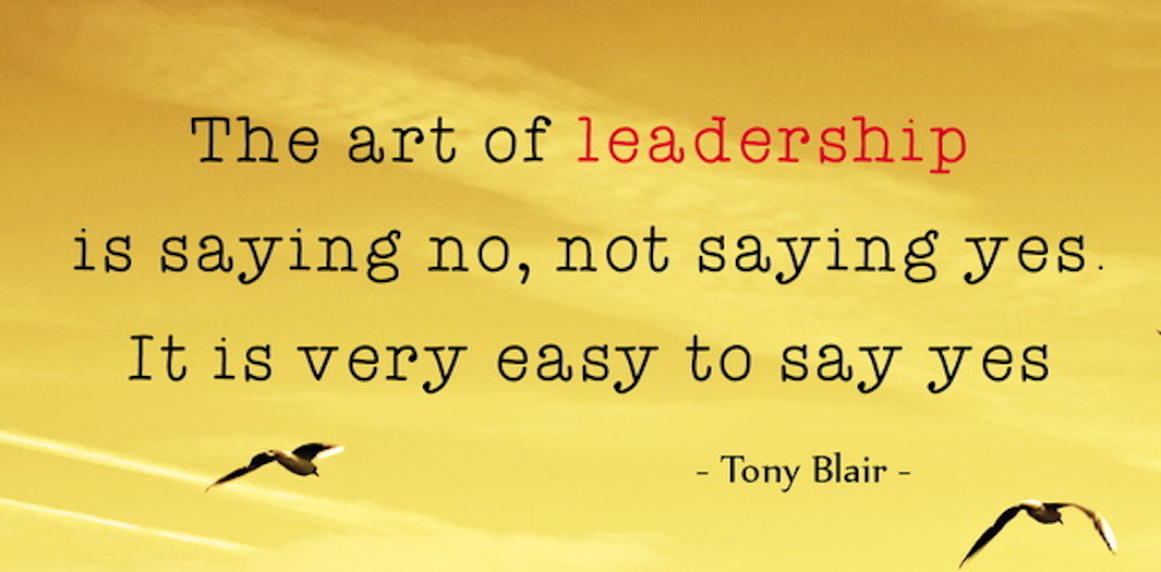 You Can't Always Please Everyone as A Leader.