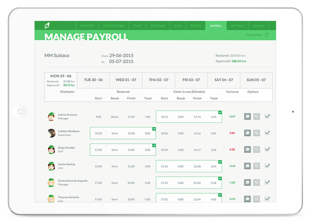 Say Goodbye to Time Consuming Payroll.