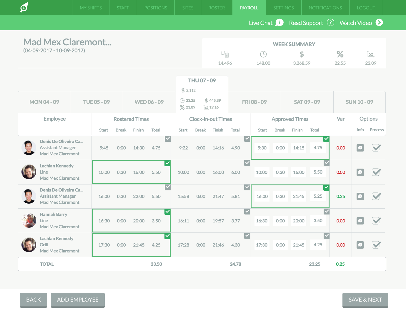 New Look Payroll Is Live!
