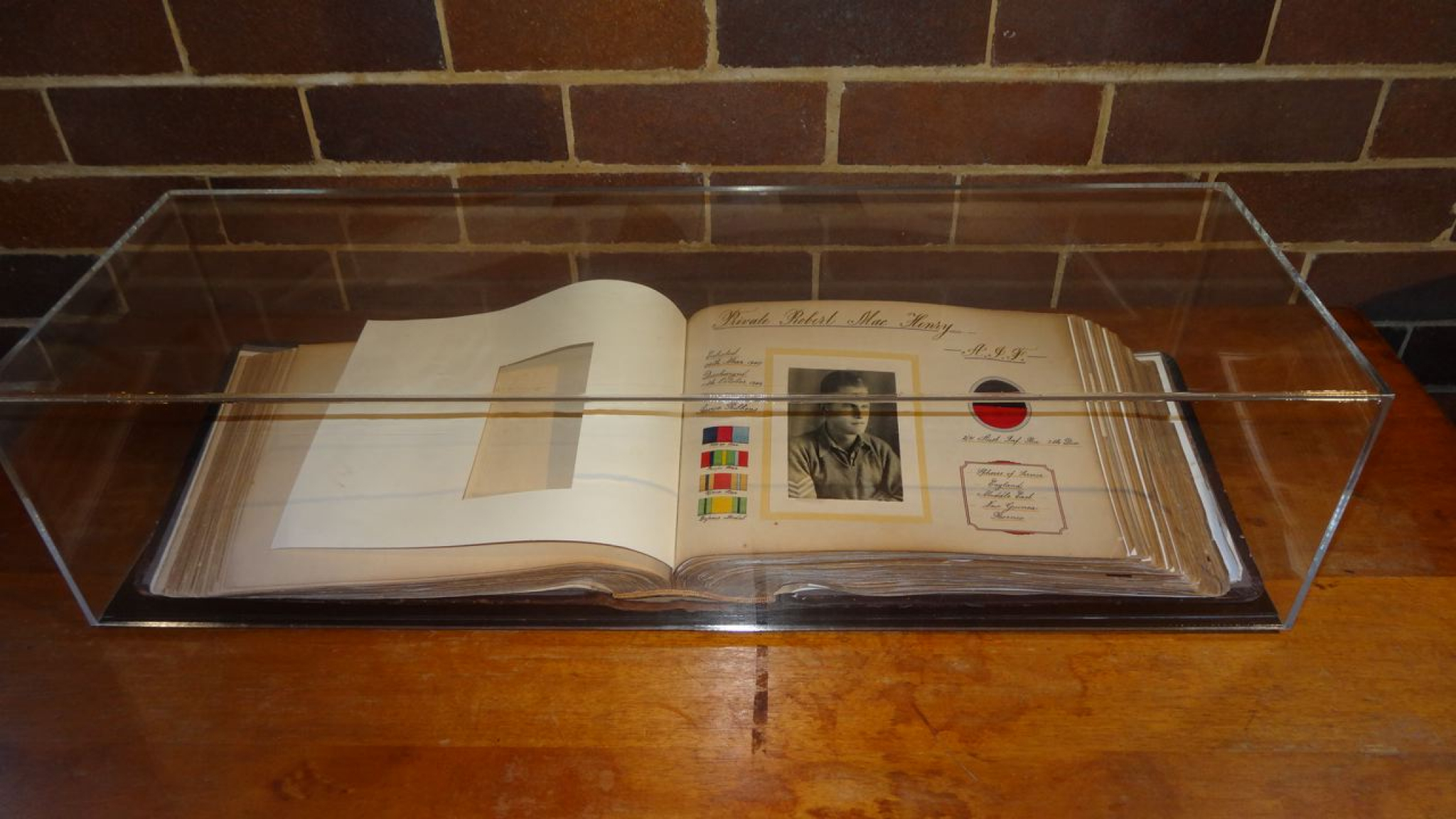 Book of Remembrance at Crows Nest Uniting Church