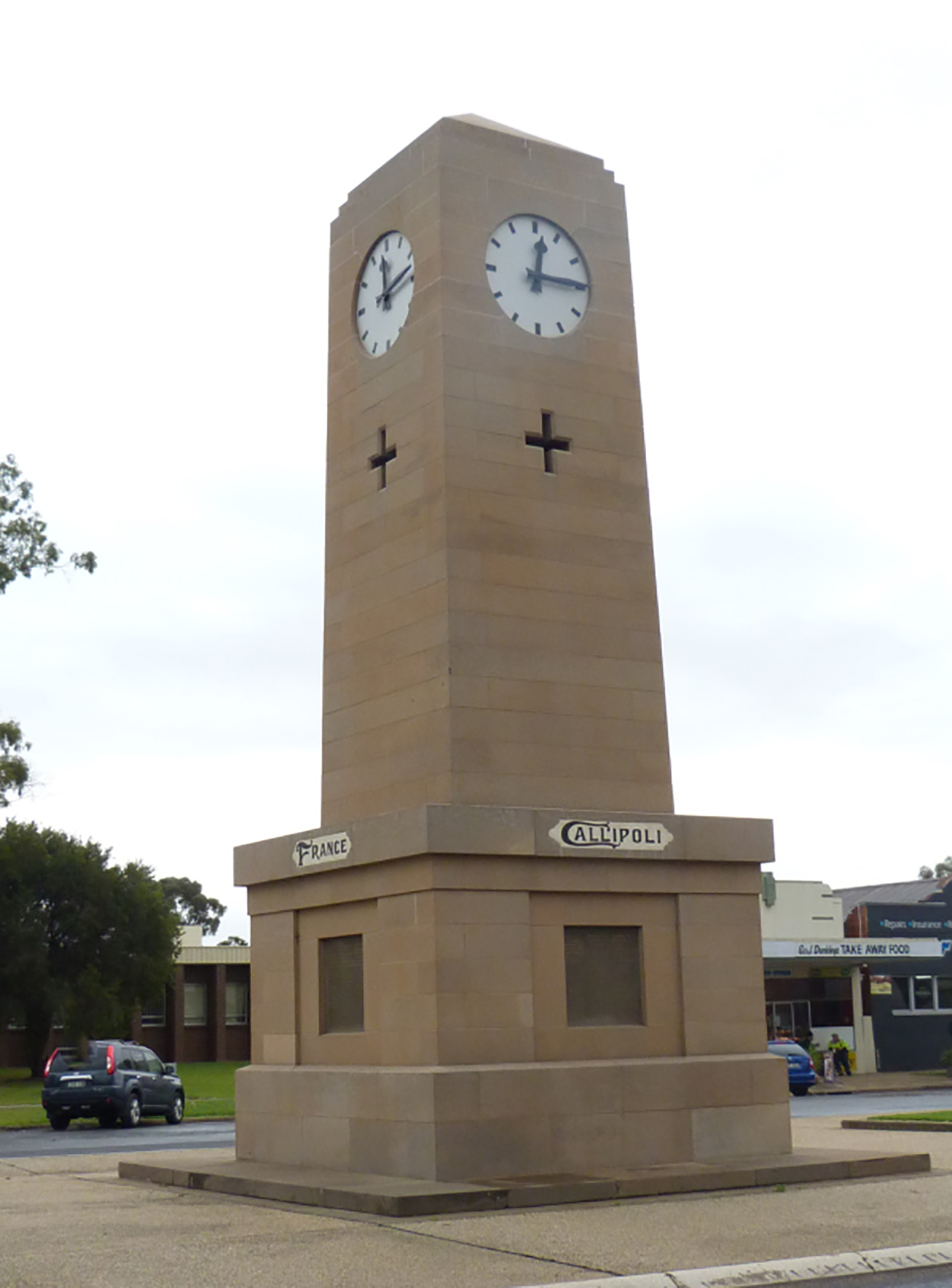 Corowa First and Second World Wars Memorial Clock