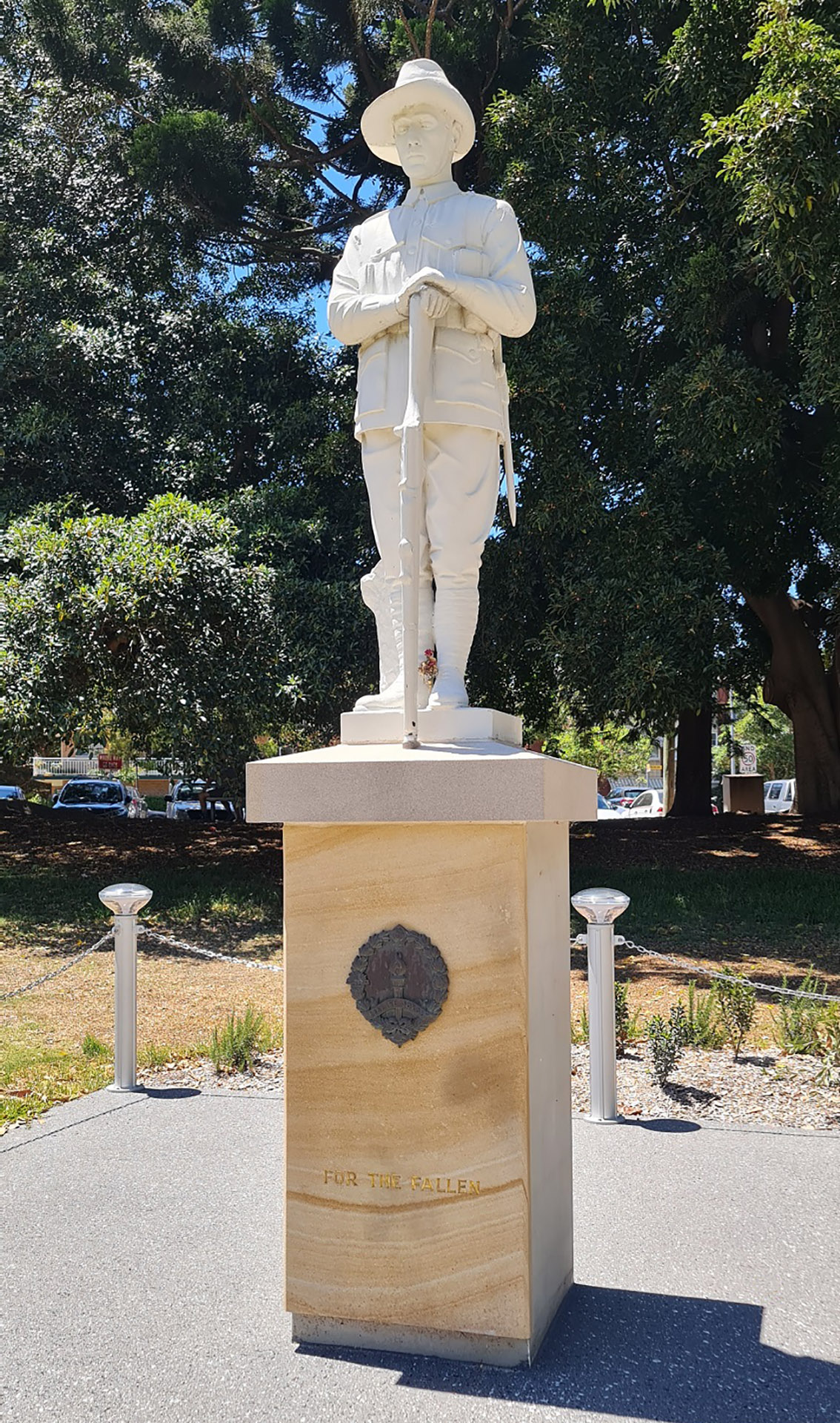 Former Wolli Creek Tram Depot War Memorial, Sans Souci. Provided by Bayside Council, 2021.