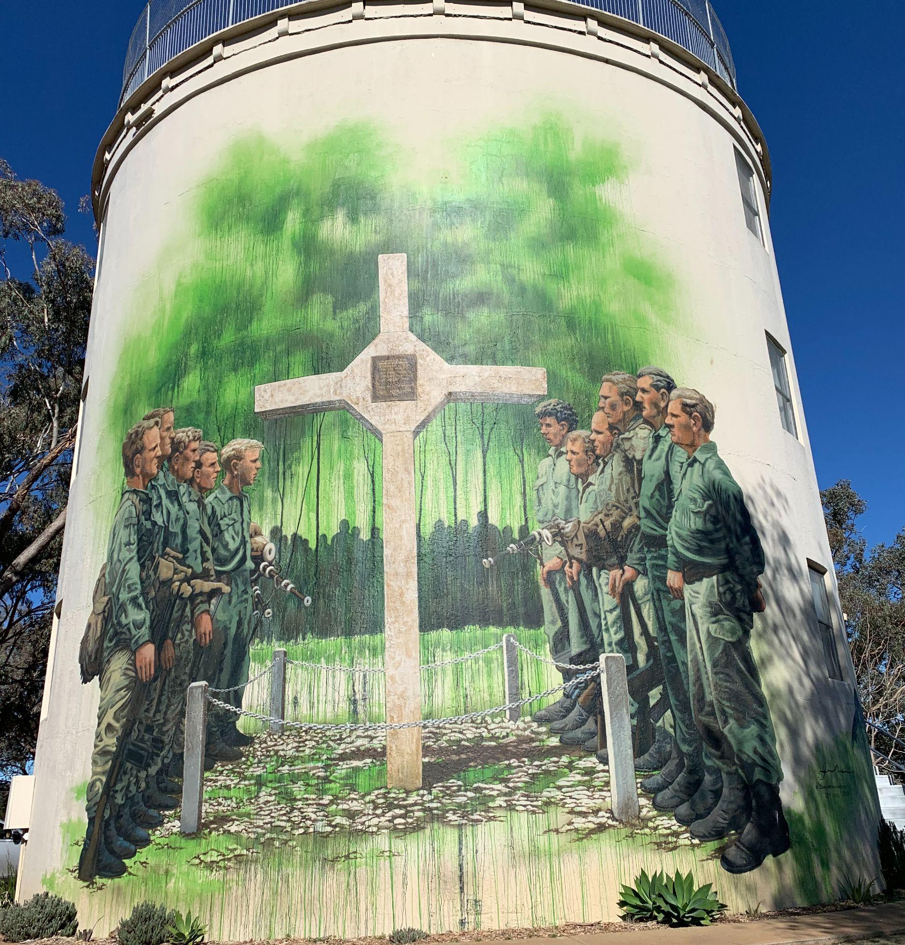Gunnedah Vietnam Veterans Murals