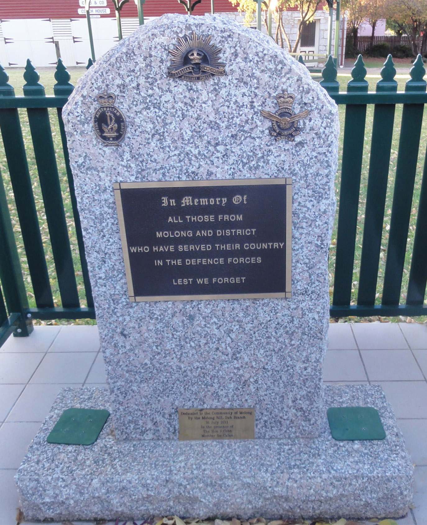 Molong and District War Memorial