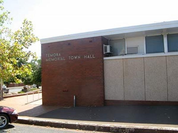 Temora Memorial Town Hall