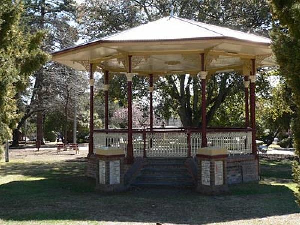 Armidale Memorial Band Rotunda