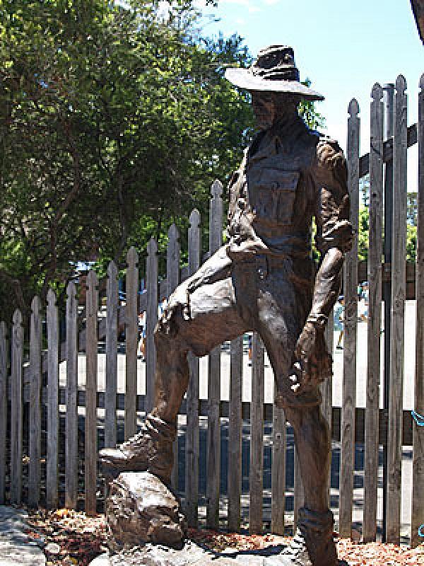 Sir Roden Cutler Memorial in Manly