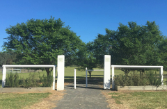 Camden RSL Community Memorial Walkway, Cawdor Road entry to Bicentennial Park