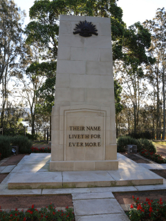Gosford Cenotaph, front view