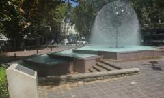 El Alamein Memorial Fountain