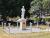 Former Wolli Creek Tram Depot War Memorial in Pemberton Reserve, front view