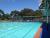 Kogarah War Memorial Olympic Swimming Pool, long view of main pool